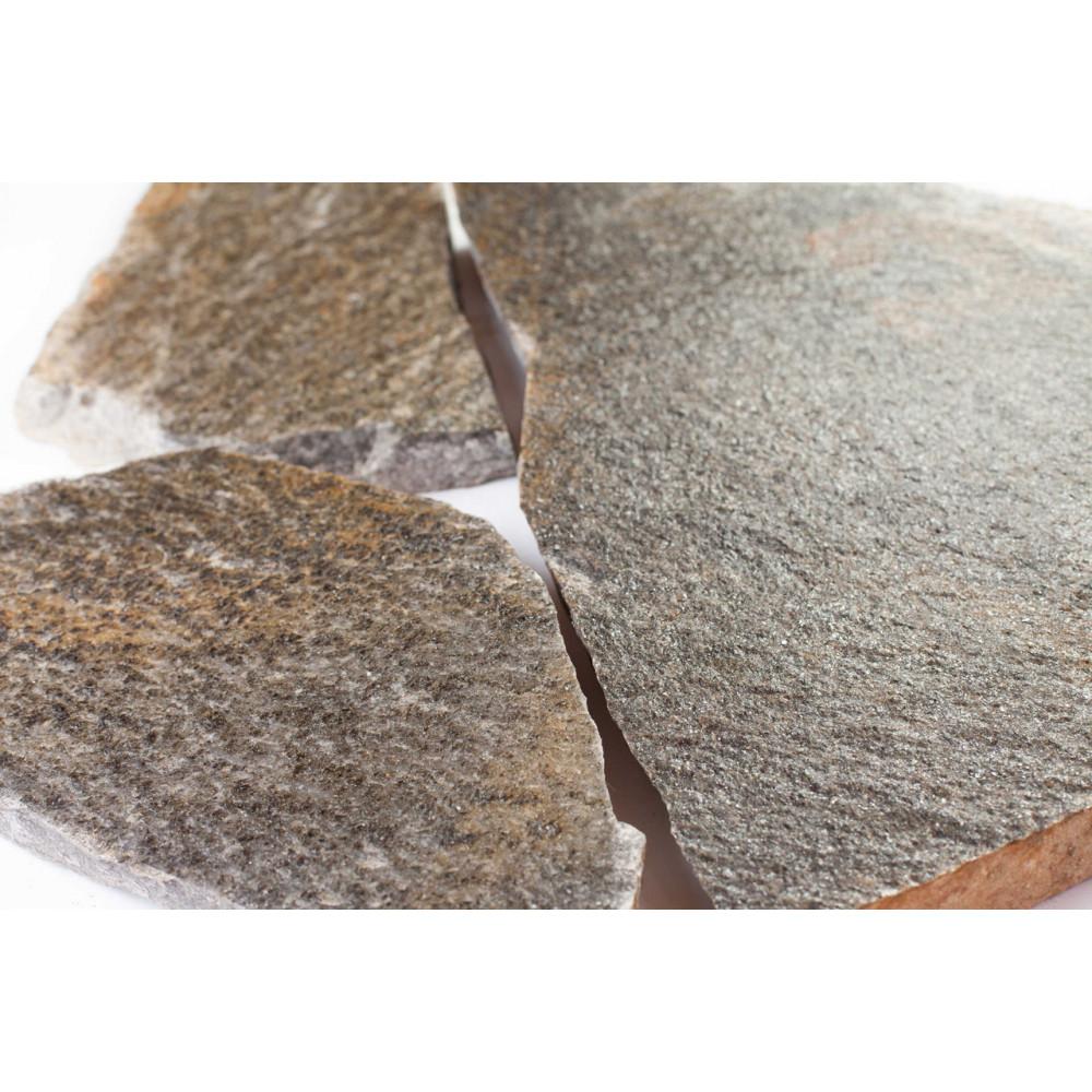 Плитняк (2-3 см.) «Кварцит Карабашский»