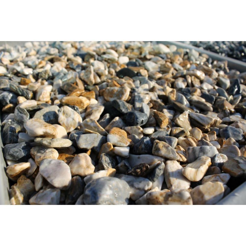 Мраморная крошка галтованная Мрамор (фр. 10-20 мм.)
