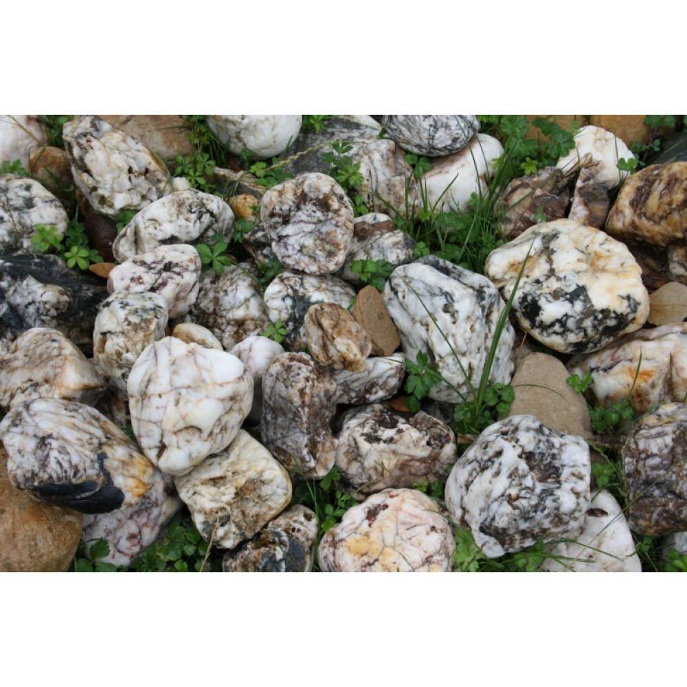 Ландшафтный камень Кварц (фр. 100-300 мм.)
